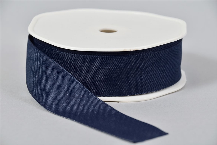 <h4>Lint Textiel 44 Donkerblauw 20mx25mm</h4>
