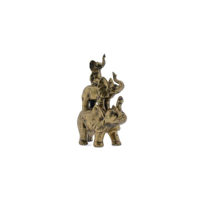 <h4>Fig. Elephant 34cm Gold</h4>