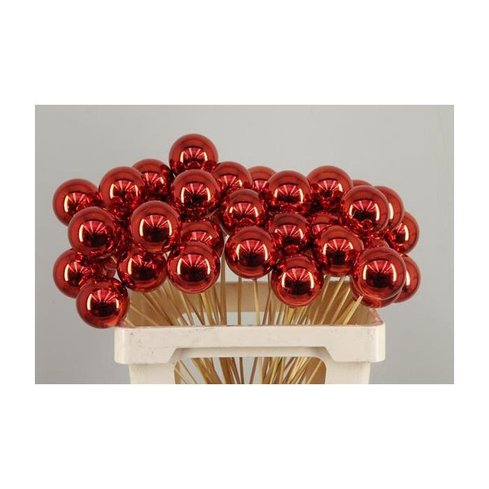 <h4>Stick Ball C. Ø6 Red Shiny</h4>