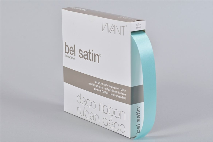 <h4>Lint Satin A40 Lichtblauw 100m X 25mm P/1</h4>