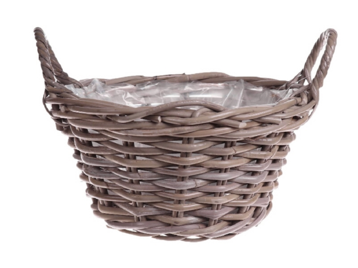 <h4>Deco. DF05200 Basket Pierron grey L</h4>