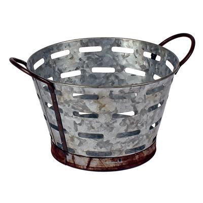 <h4>Bowl Olympia zinc Ø15xH9,5cm + PVC inlay</h4>