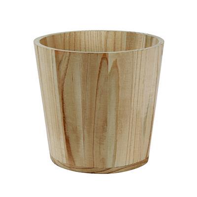 <h4>Pot basic en bois Ø15xH15cm (ES14)+plastique liner</h4>