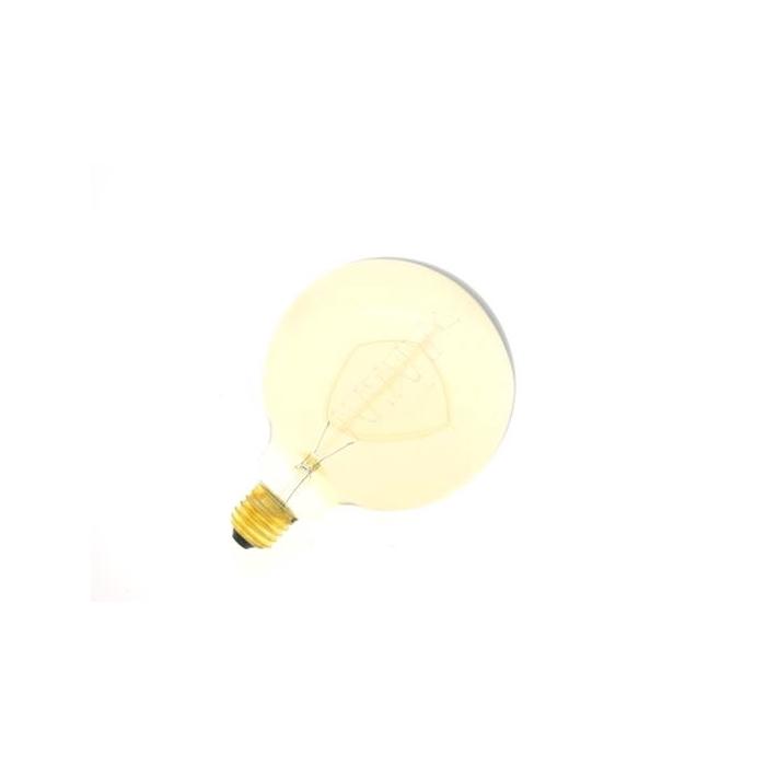 <h4>Lamp Bulb Ø12,5xh:17,5cm Amber</h4>