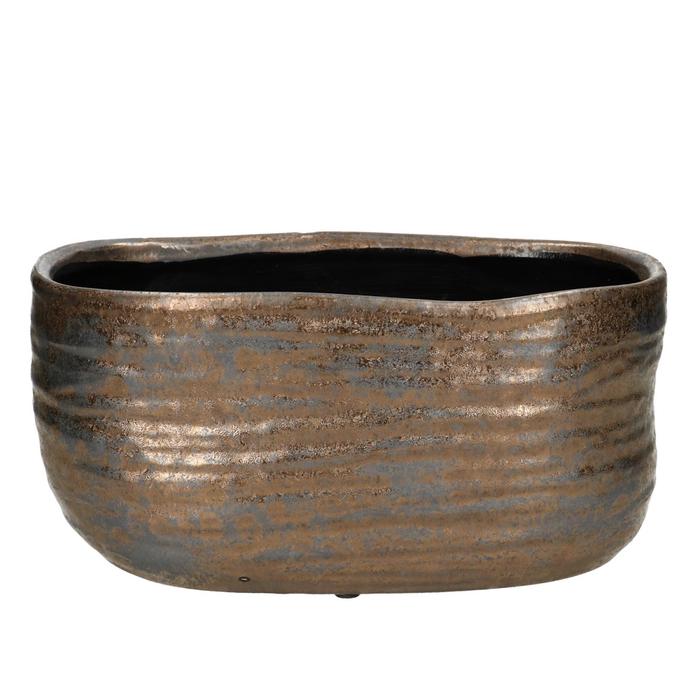 <h4>Ceramics Bronze pot ov.24.5*13*11.5cm</h4>