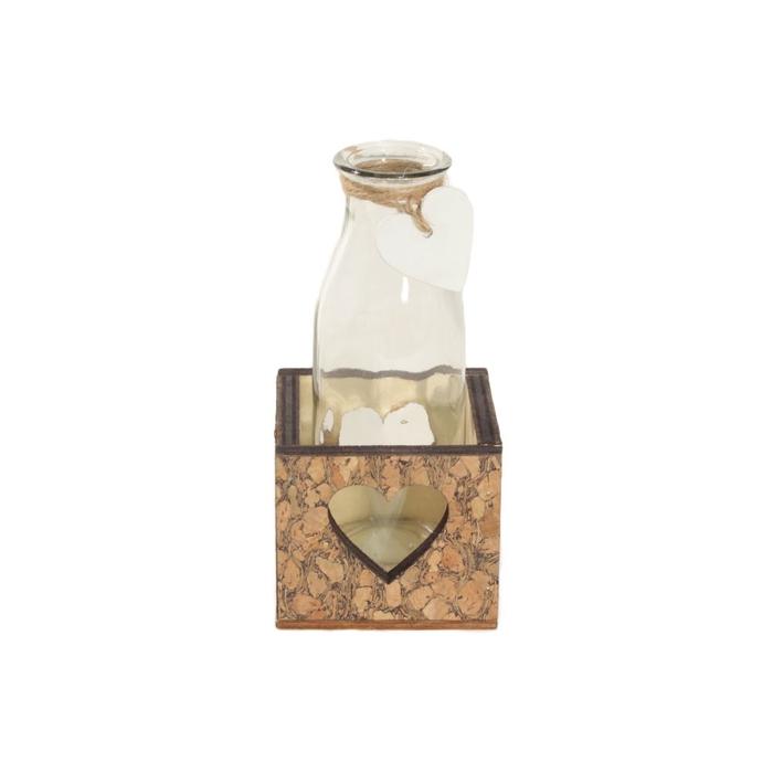 <h4>Glas Bak 1fles hart d5*14cm</h4>