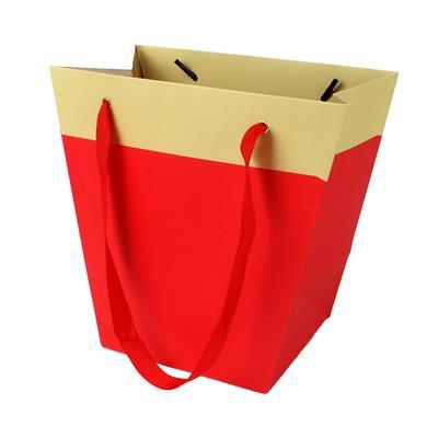 <h4>Bag Facile carton 19/12x11xH18cm red</h4>