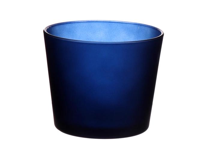 <h4>DF883595700 - Pot Nashville d11.5xh9.5 d.blue matt</h4>