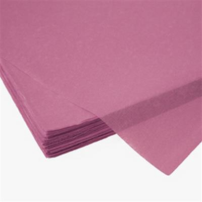 <h4>Papier vel: 50x75cm zijde 480 vellen 17gr roze *</h4>