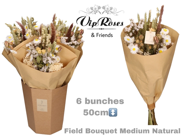 <h4>Vip Dried Bouquet Medium Naturel</h4>