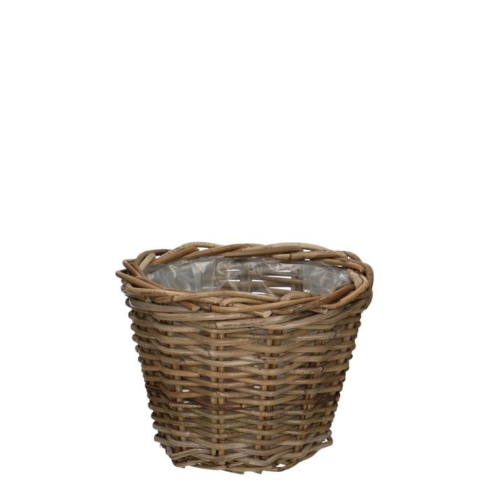 <h4>Baskets Rattan pot d29*20cm</h4>