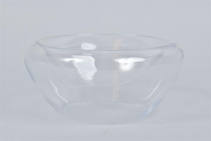<h4>Glas Schaal Dubbel 20x9cm</h4>