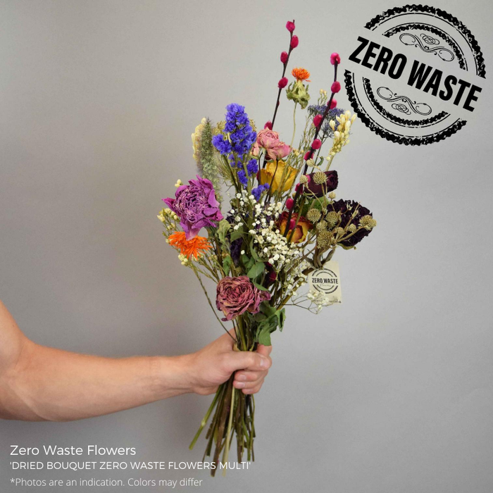 <h4>DRIED BOUQUET ZERO WASTE FLOWERS MULTI</h4>