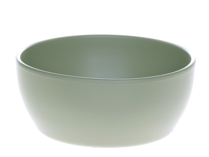 <h4>DF885033600 - Bowl Madlyn d18.5xh8.5 l.green</h4>