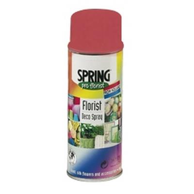 <h4>'Spring' Spray de decoration400ml holiday rouge036</h4>