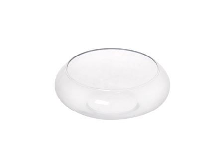 <h4>Bowl Lilybell d16/20xh8cm clear</h4>