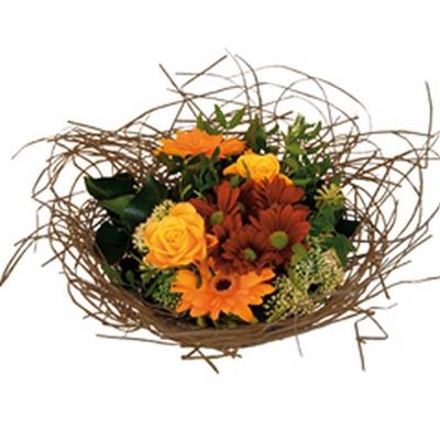 <h4>Bouquet holder woody Ø25cm natural</h4>