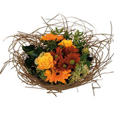 <h4>Support à bouquet woody Ø25cm naturel</h4>