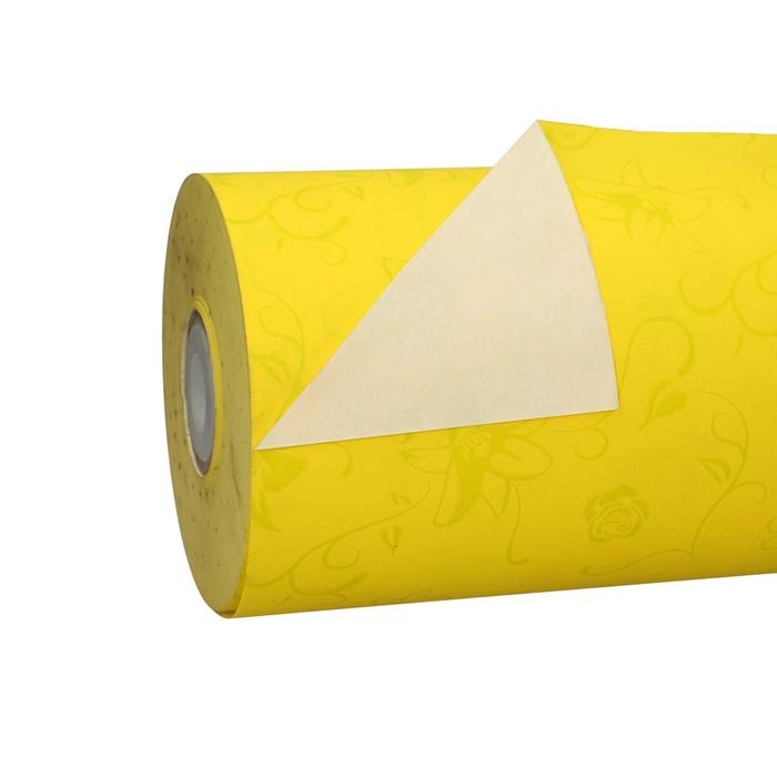 <h4>Papier Rol 50cm 40g 7.5kg Geel Deco</h4>