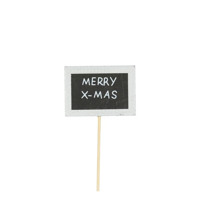 <h4>Christmas sticks 50cm Merry X-Mas 7.5cm</h4>