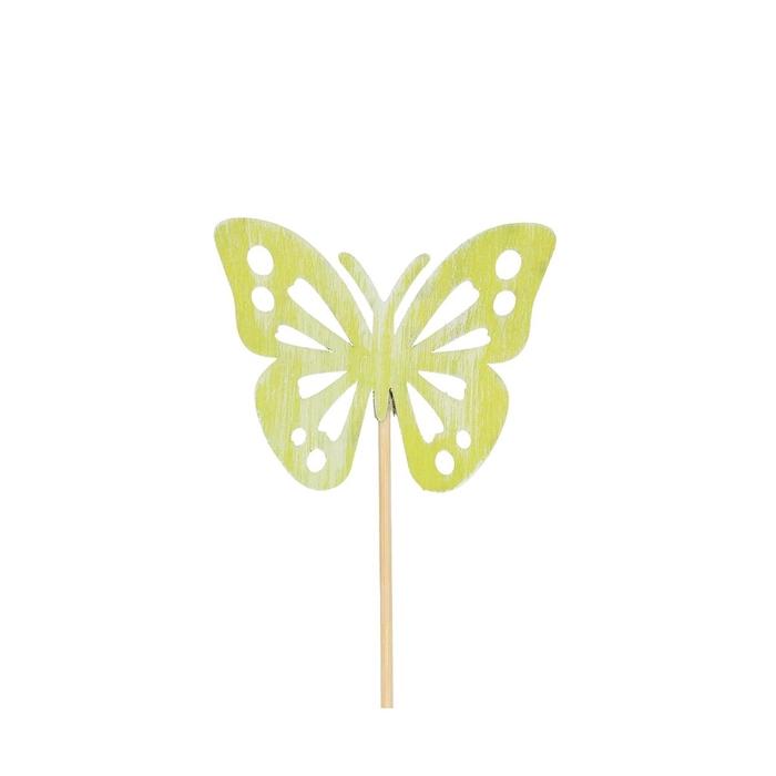 <h4>Bijsteker 50cm Vlinder d8*6.5cm</h4>