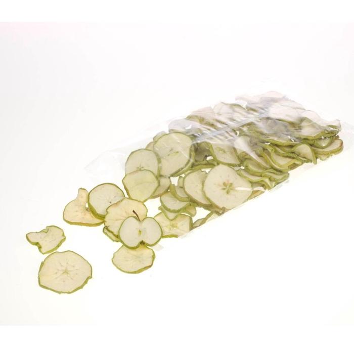 <h4>Apple sliced 250gr bag green natural</h4>