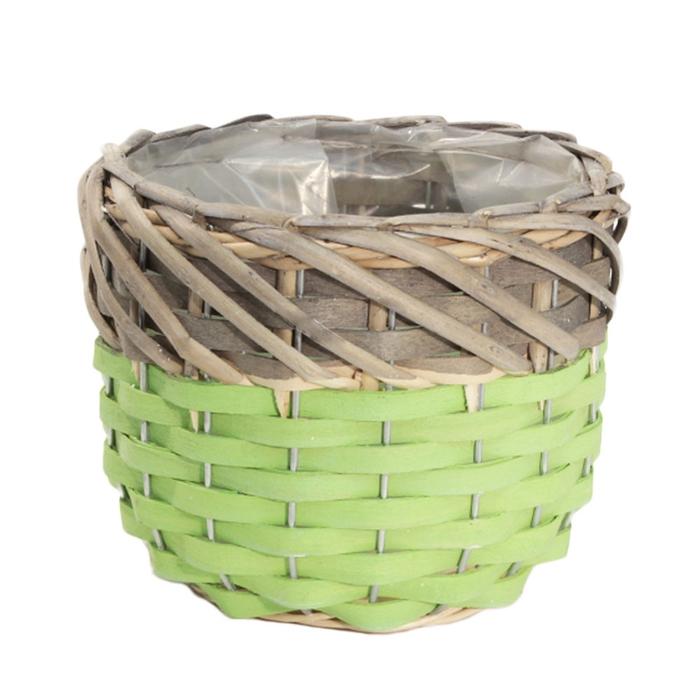 <h4>Manden Willow Pot d15*12cm</h4>