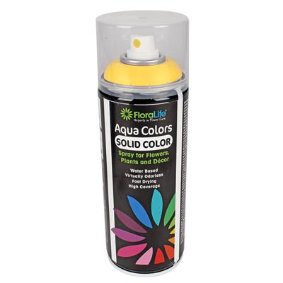 <h4>Floralife aqua spray paint Traffic yellow 400 ml</h4>