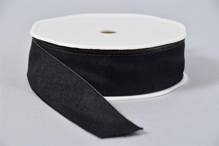 <h4>Lint Textiel 85 Zwart 20mx25mm</h4>