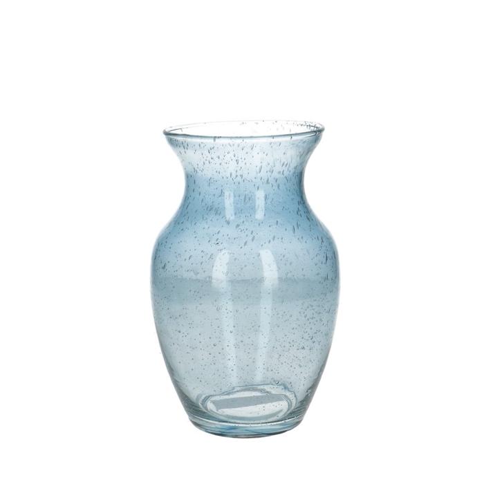 <h4>Glass colour Bouquet vase bol d13*19cm</h4>
