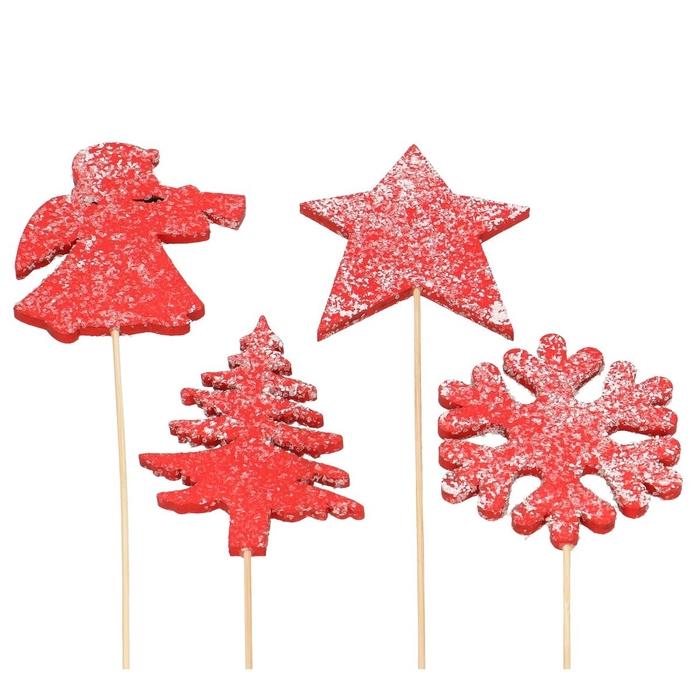 <h4>Christmas sticks 20cm Christmas 4 ass.</h4>