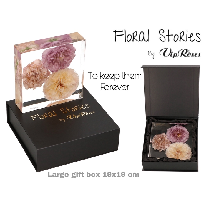 <h4>VIP FOSSIL EPOXY LARGE 3 FLOWERS</h4>