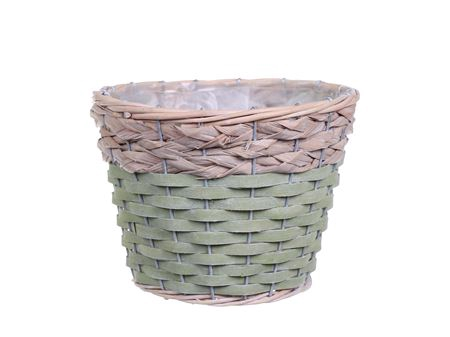 <h4>Basket Barwick d15.5xh13.5 green/grey</h4>