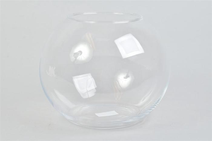 <h4>Glas Bol Vaas 25x20cm</h4>