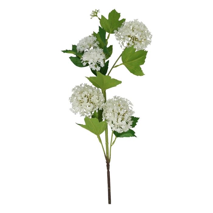 <h4>Silk Viburnum spray 75cm</h4>