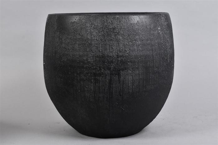 <h4>Bali Black Coal Pot 35x32cm</h4>