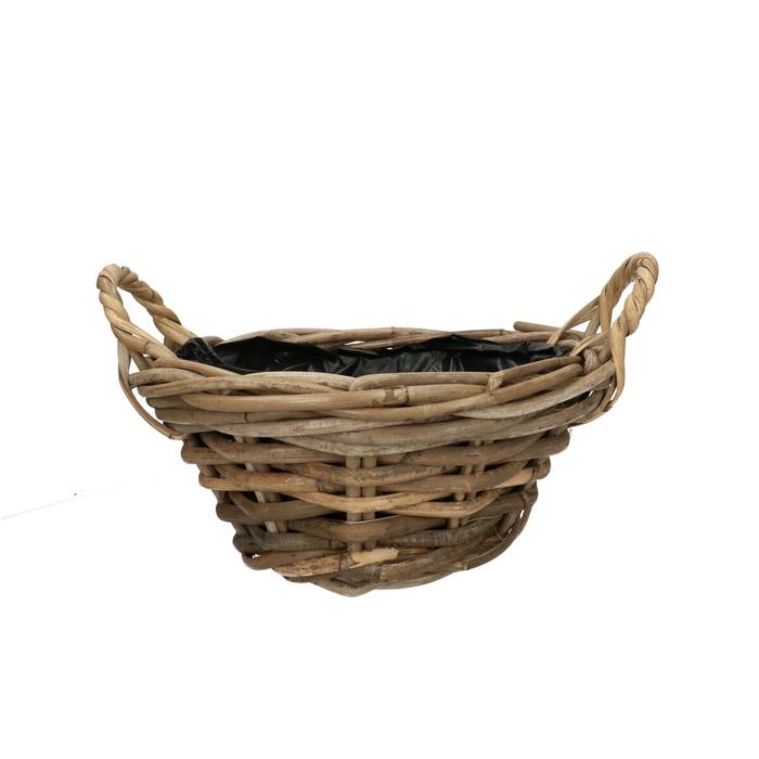 <h4>Baskets Rattan bowl d25*11cm</h4>