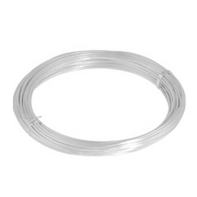 <h4>Gelakt aluminiumdraad - wit 100 gram (12 meter)</h4>