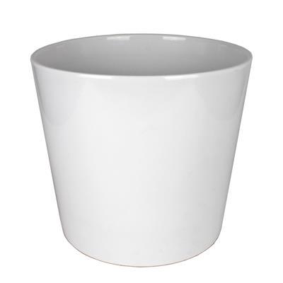 <h4>Pot Dallas Céramique Ø32xH31cm blanc brilliant</h4>