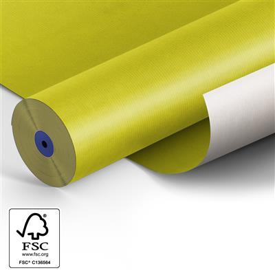 <h4>Papier: 50cm Starkraft wit 50gr Fond geel 400m.</h4>