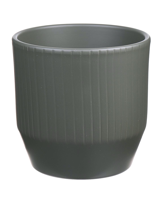 <h4>DF883748947 - Pot Pisa+lines d13.5xh13.2 camouflage</h4>