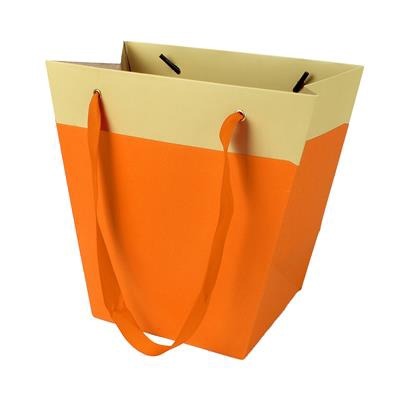 <h4>Bag Facile carton 19/12x11xH18cm orange</h4>