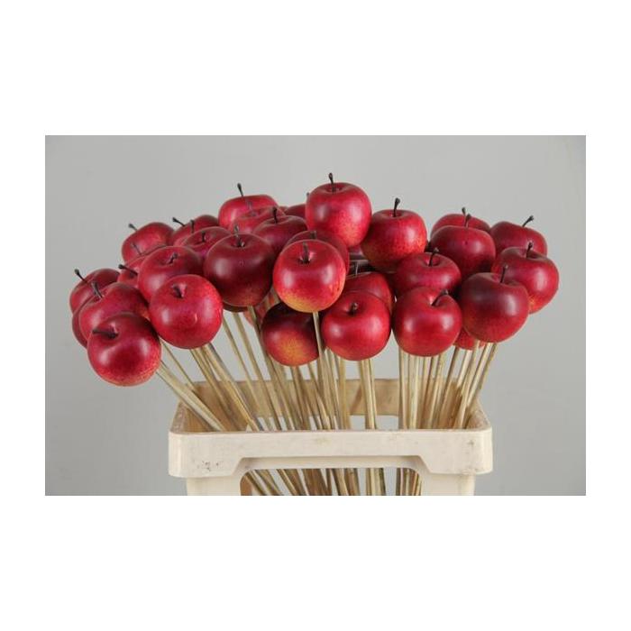 <h4>Stick Apple 6cm/large Red</h4>