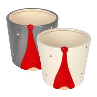 <h4>Pot Santa hat la cerámique ES9xH10cm ass</h4>