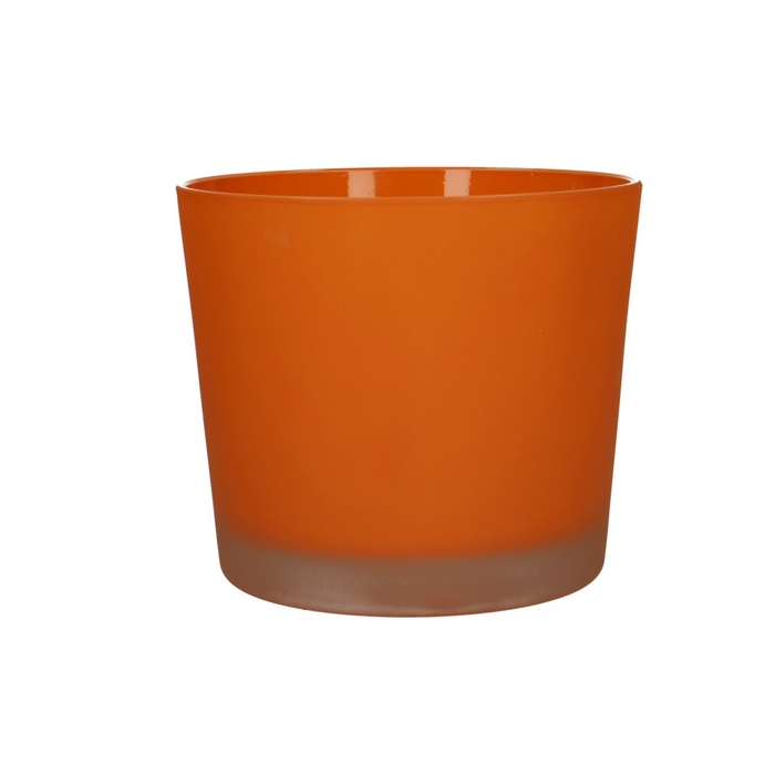 <h4>Glas kleur Pot Conner mat d14*12.5cm</h4>