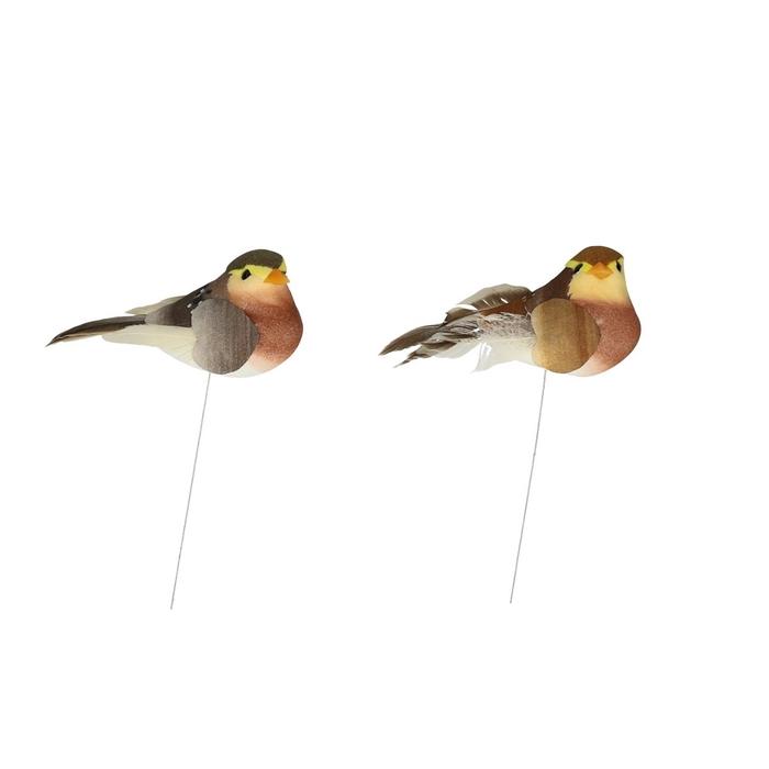 <h4>Voorjaar Vogel/draad  7.5cm</h4>