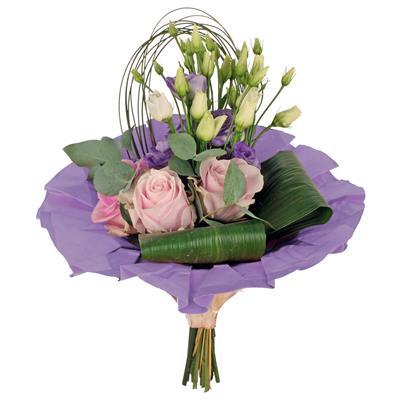 <h4>Bouquet cover kraft Ø32cm violet</h4>