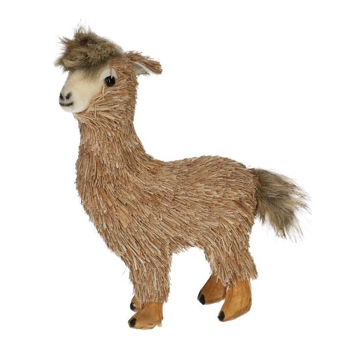 <h4>Decoratie Alpaca Nami d13*20cm</h4>