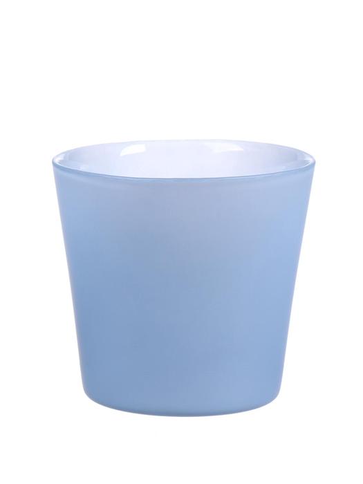 <h4>DF883715400 - Pot Nashville d11.5xh9.5 light blue matt</h4>