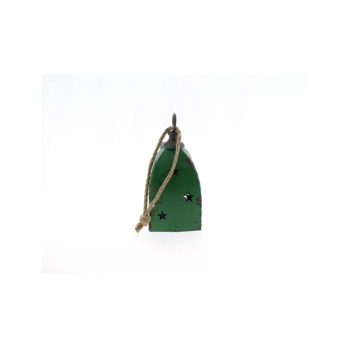 <h4>Bell Hanging Mtl 10x10x23 Grn</h4>